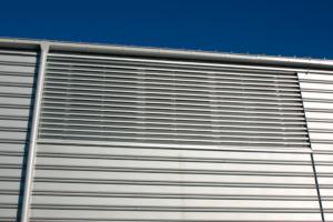 Преимущества наружных стальных решеток